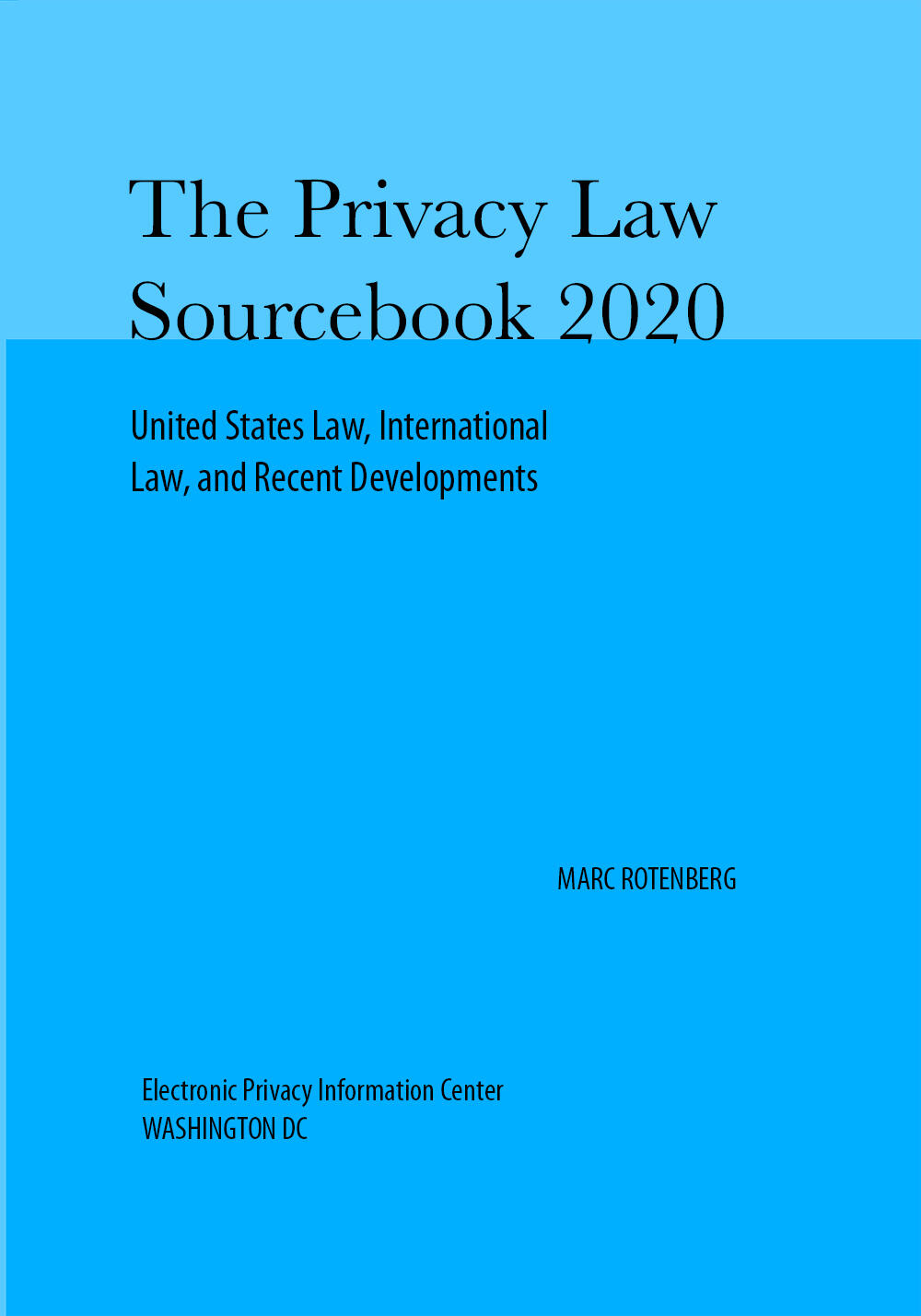 Privacy Law Sourcebook