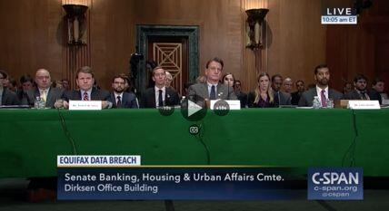 EPIC Testifed at 2017 Senate Hearing on Equifax Data Breach