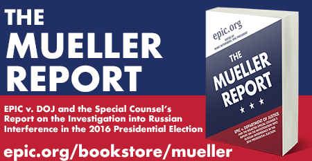 EPIC Mueller Report book