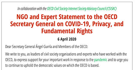 NGO Expert Statement to OECD